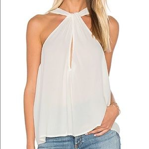 Free People - Keyhole Neck Halter Top Gold